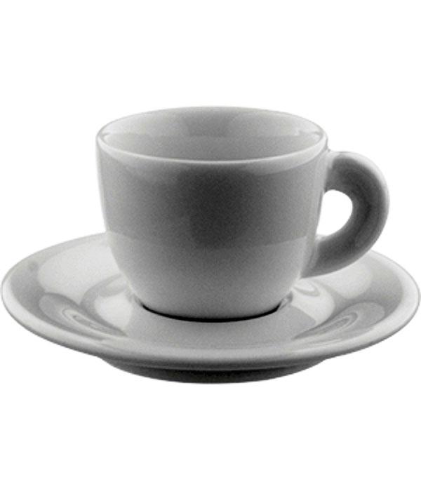 Кофейная пара (эспрессо), белая