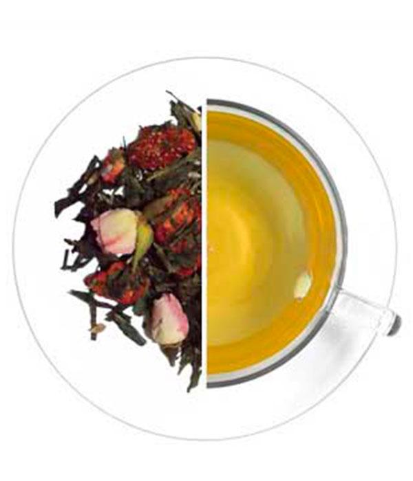 Чёрный чай Strawberry & Champagne